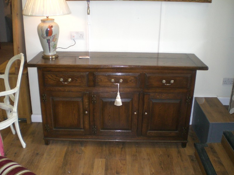 distressed-oak-sideboard